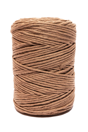4mm cotton cord in wheat wonderful for DIY macrame projects