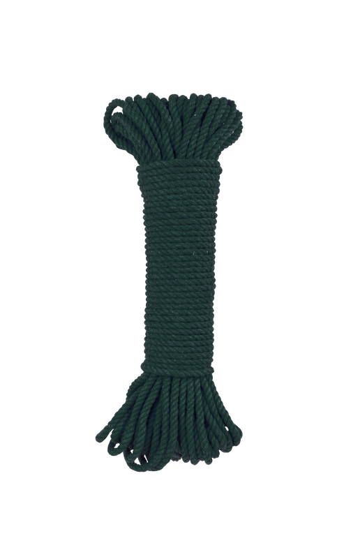 Forest Green 5mm 100% cotton rope bundle