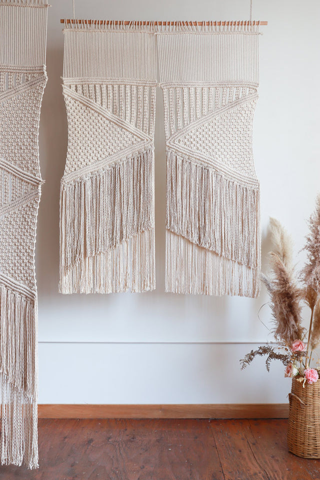 macrame wedding backdrop pattern