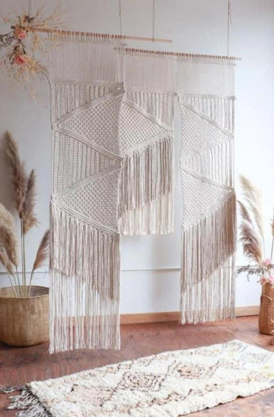 Boho Macramé wedding backdrop pattern