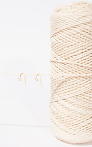 Earring Hooks and 2mm Cotton String