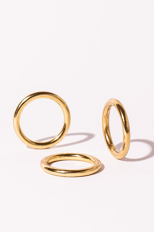 Solid Brass Rings