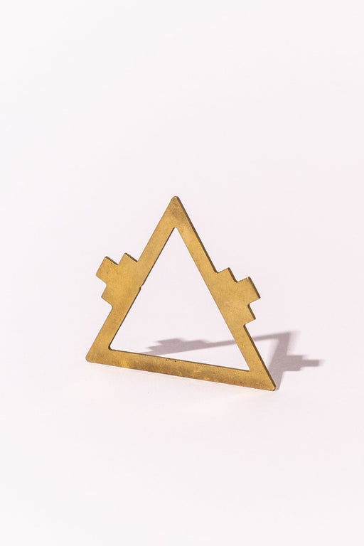Brass triangle