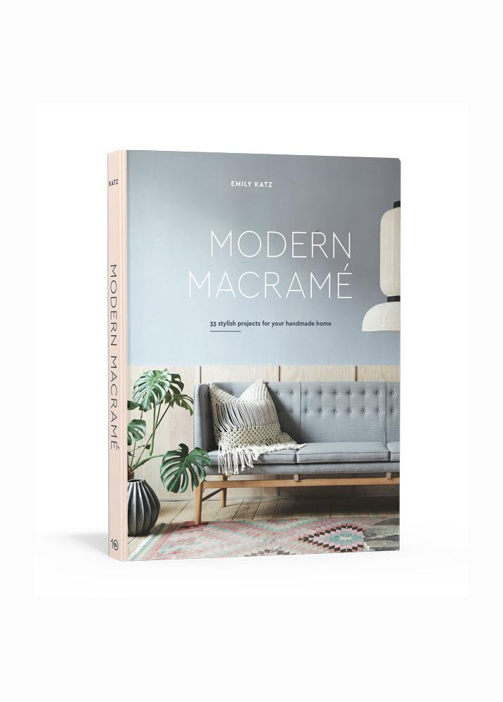 Modern Macrame book DIY learn macrame for beginners and interior designers