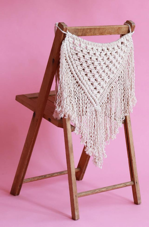DIY Macramé Wedding Pattern tutorial
