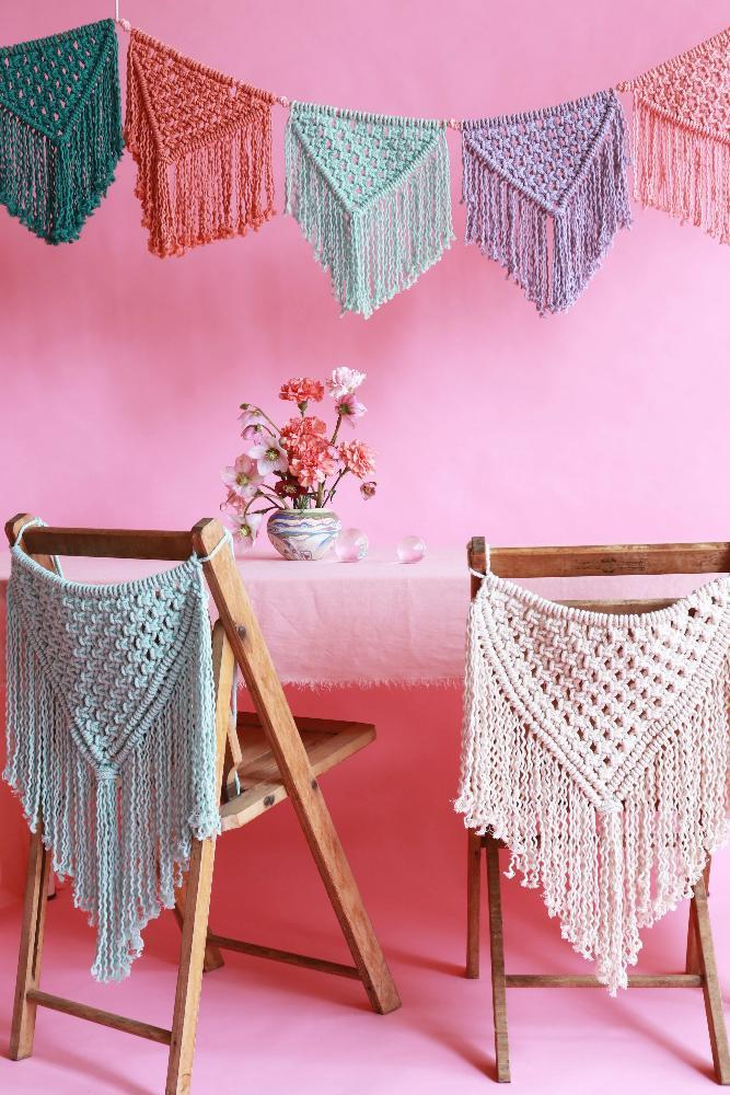 Macrame Party decorations