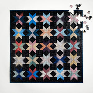 New York Quilt Four Point Puzzle