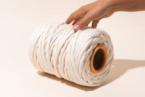 9mm 100% cotton string for macrame