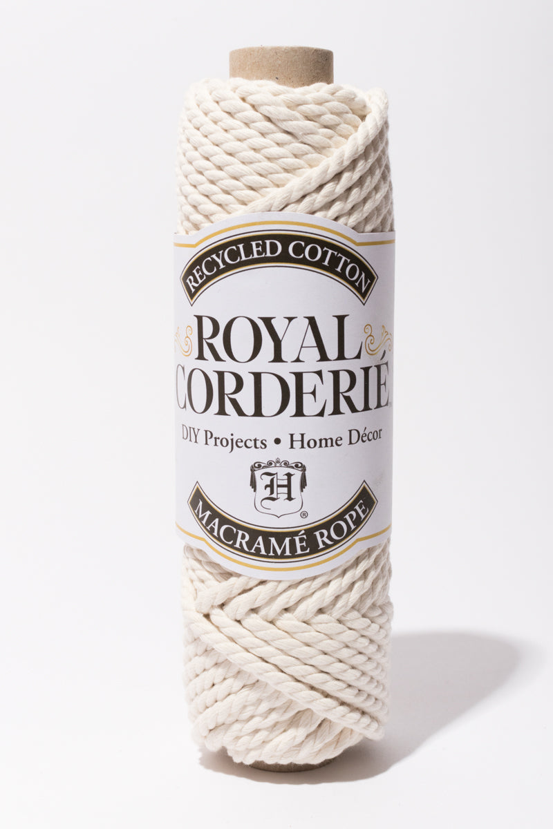 Natural 6mm Recycled Cotton Rope 2 ply