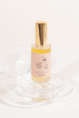 The Golden Door custom perfume and room spray by Crosby and Emily Katz