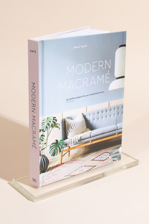 Modern Macramé by Emily Katz - Signed Copies!