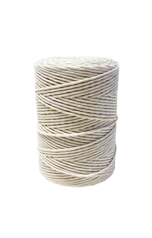 4mm Organic Cotton Cord 1000 feet