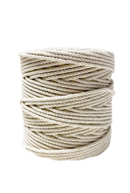 5mm Organic Cotton Rope 500 feet