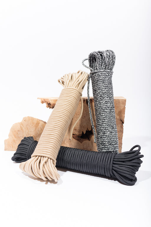 Recycled PET bottles made into rope!