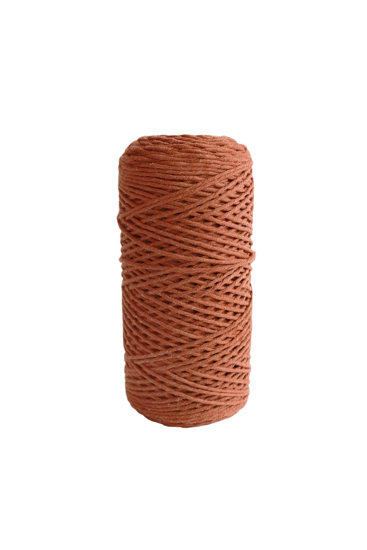 copper 2mm 100% oeko tex certified cotton string or cord