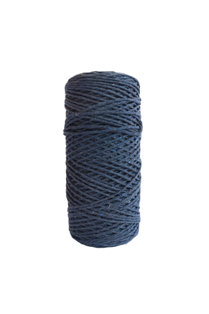 indigo 2mm 100% oeko tex certified cotton string or cord