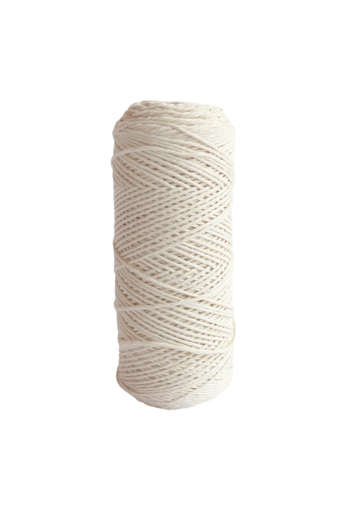 2mm 100% oeko tex certified cotton string or cord - Natural