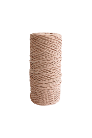peach 2mm 100% oeko tex certified cotton string or cord