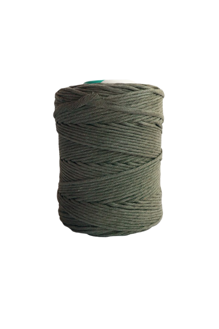 4mm string or cord in 800 foot spools  - army green