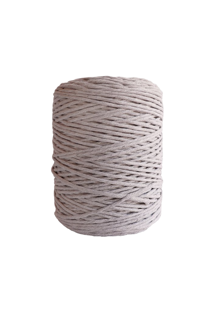 4mm string or cord in 800 foot spools  - light gray