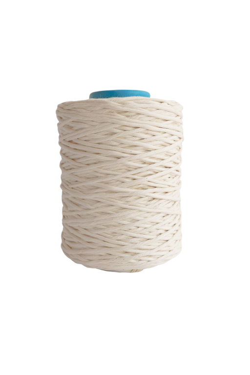 4mm string or cord in 800 foot spools  - natural undyed oeko tex certified