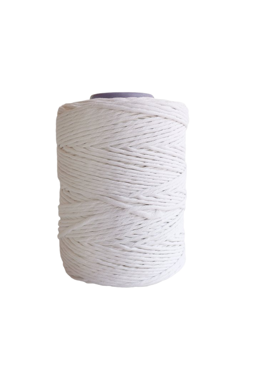 4mm string or cord in 800 foot spools  - bright white
