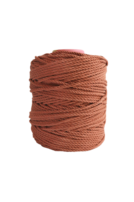 600 feet of 5mm 100% cotton rope - copper
