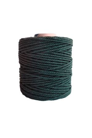 600 feet of 5mm 100% cotton rope - forest