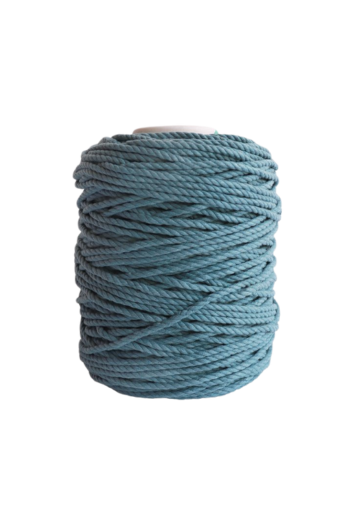 600 feet of 5mm 100% cotton rope - ocean