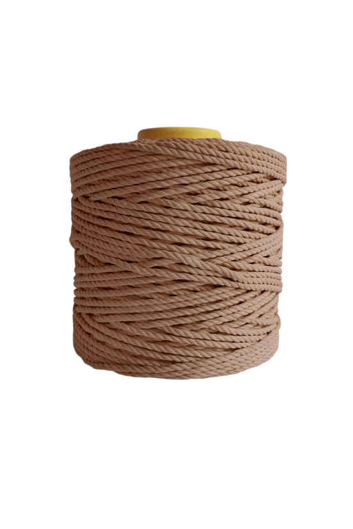 600 feet of 5mm 100% cotton rope - wheat