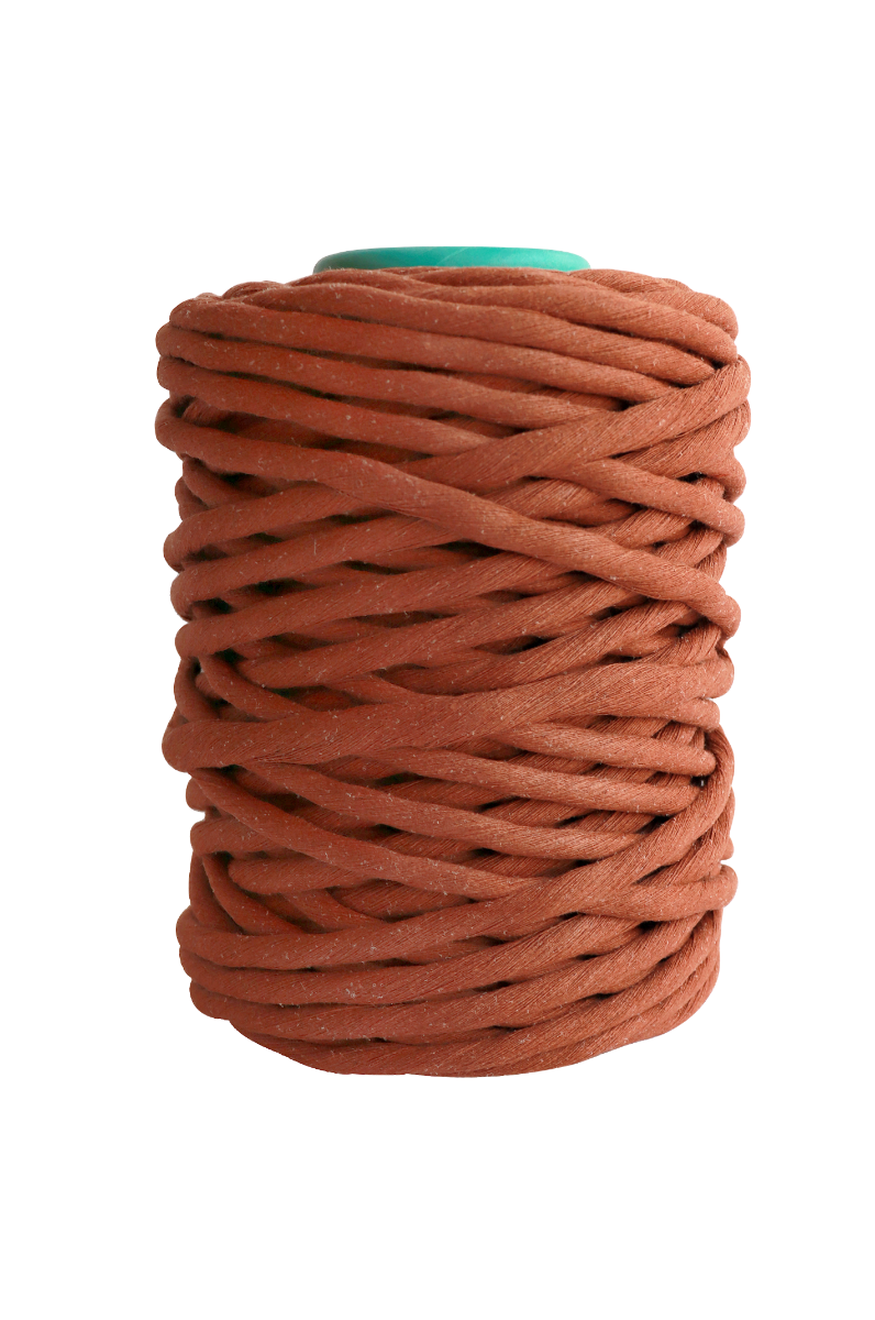 copper 9mm cotton single ply string