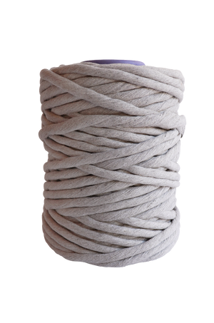 light gray 9mm macrame cord