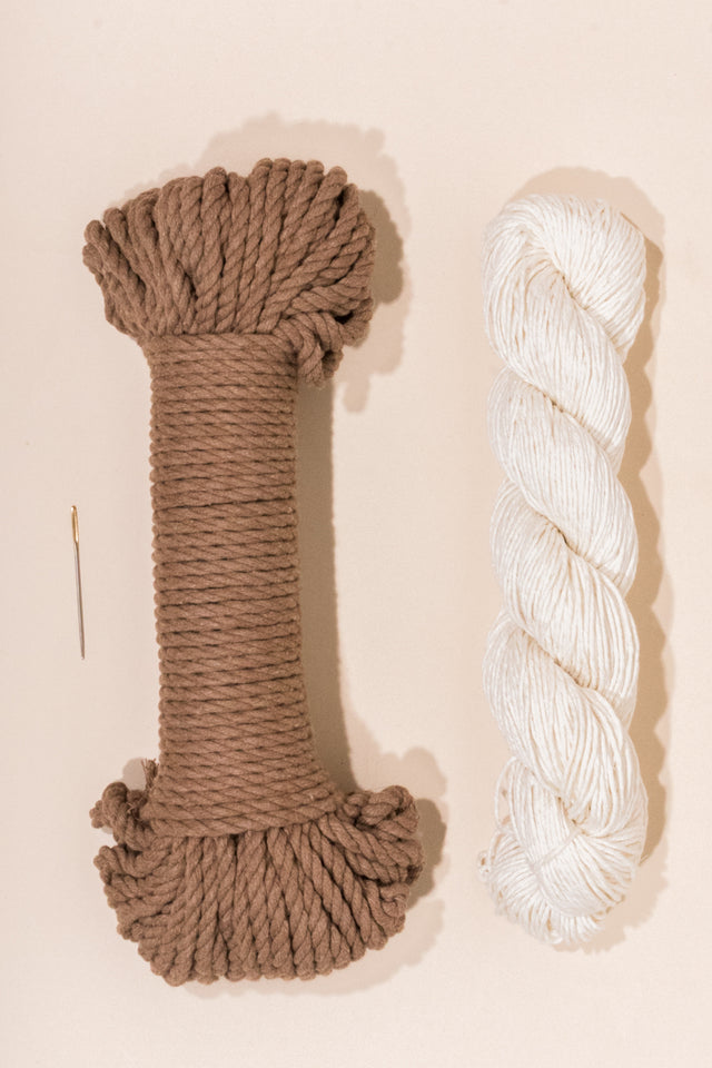wheat cotton rope and linen yarn from Flax and Twine