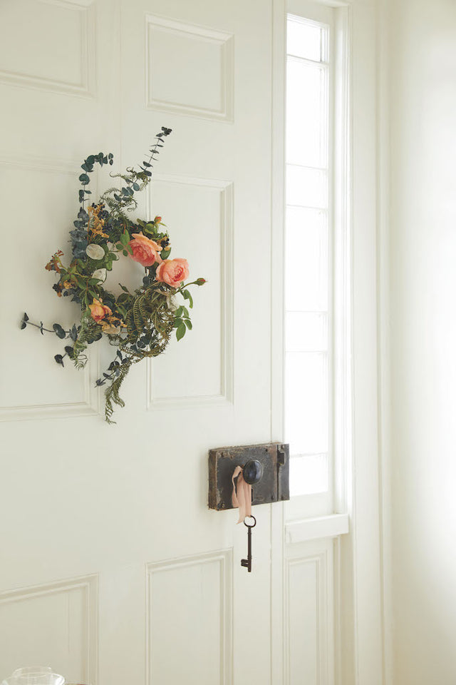 The Floral Society Wreath Workshop Styled Image
