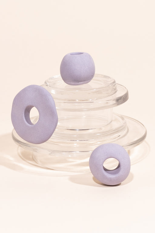 Four Eyes Ceramics Bead Set of 3
