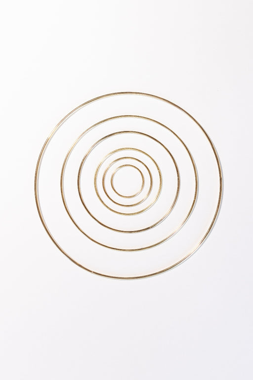 Brass Hoops All Sizes