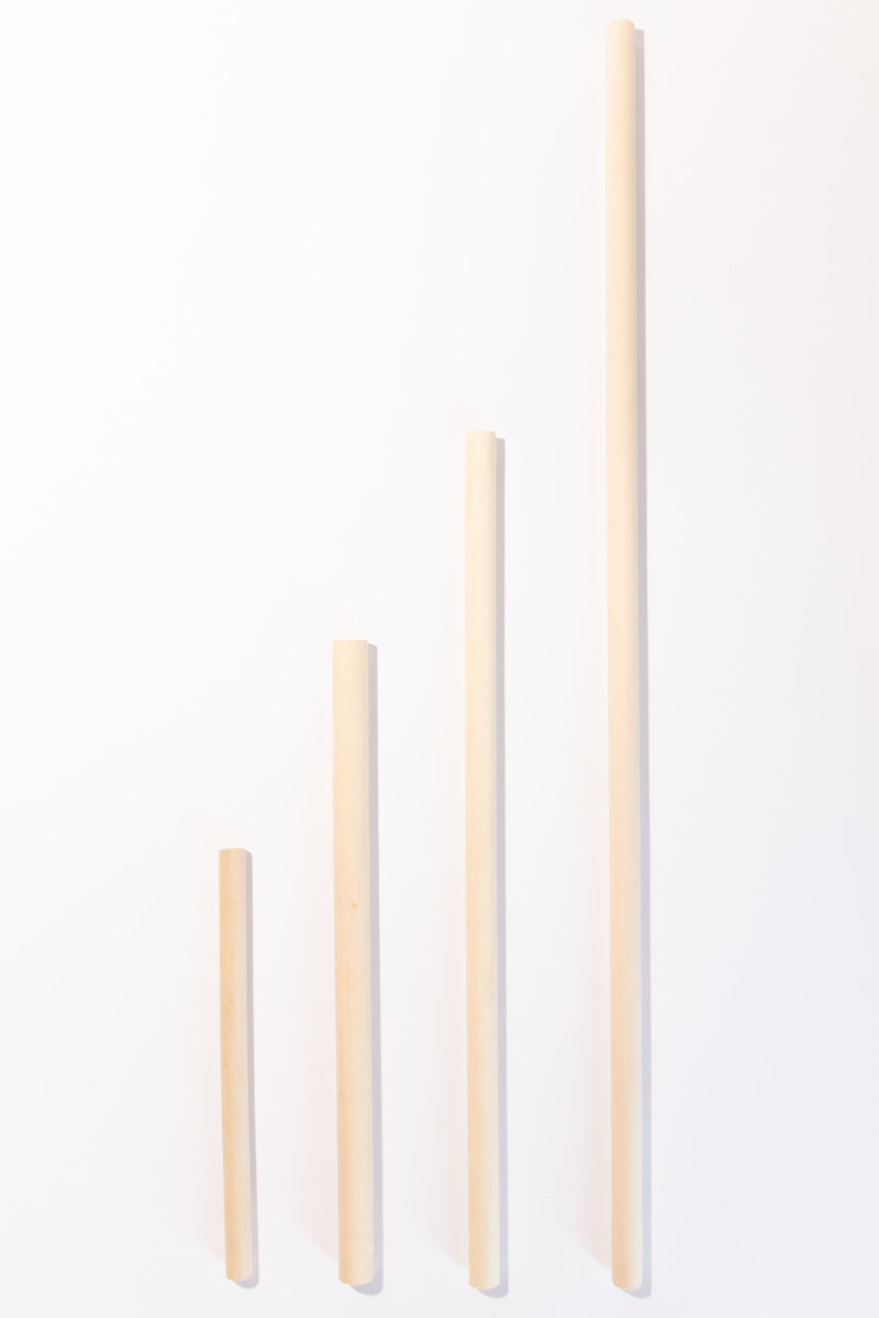 "Wooden Dowels All Sizes (12"", 18"", 24"", 36"")"