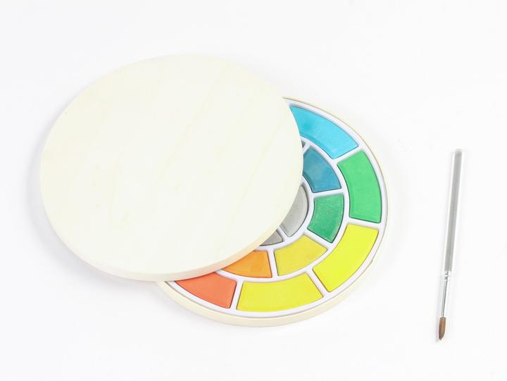 Watercolor Circular Set by Frederick & Mae