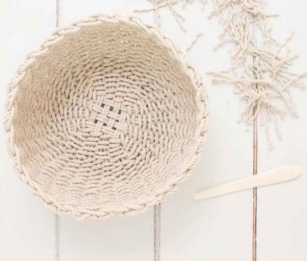 Images from Weaving Within Reach by Anne Weil 5mm Cotton Rope