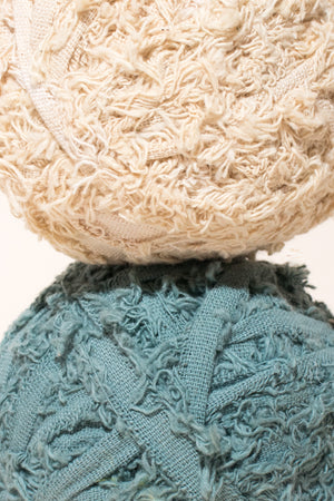 Cotton Frizz from recycled cotton and textile remnants