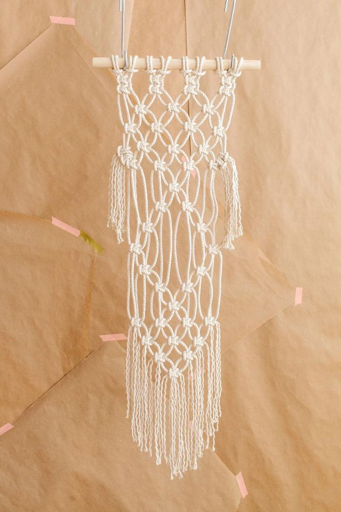 Diy Macrame Wall Hanging Kit Modern Macram 201