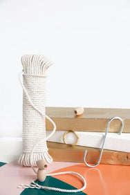 macrame wall hanging kit modern macrame DIY rope