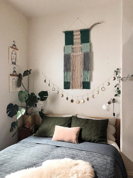 Learn Macrame with our easy colorful macrame wall hanging pattern. Made by our community