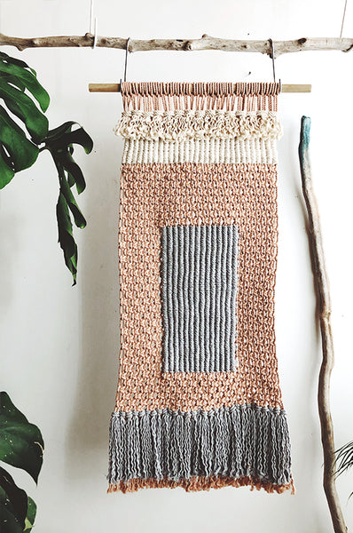 Learn Macramé with our Easy DIY Wall Hanging patterns by Modern Macrame