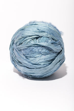 Sky Silk Sari Ribbon Ball