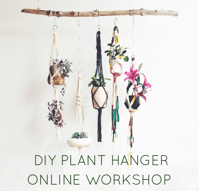 Learn Macrame Online Workshops Classes Team Building