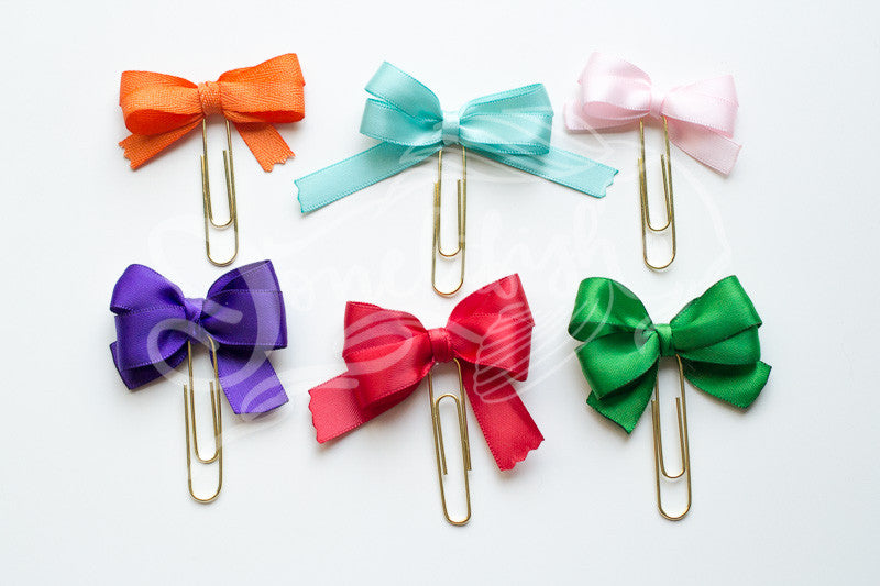 Sailor Moon Bow Paper Clips