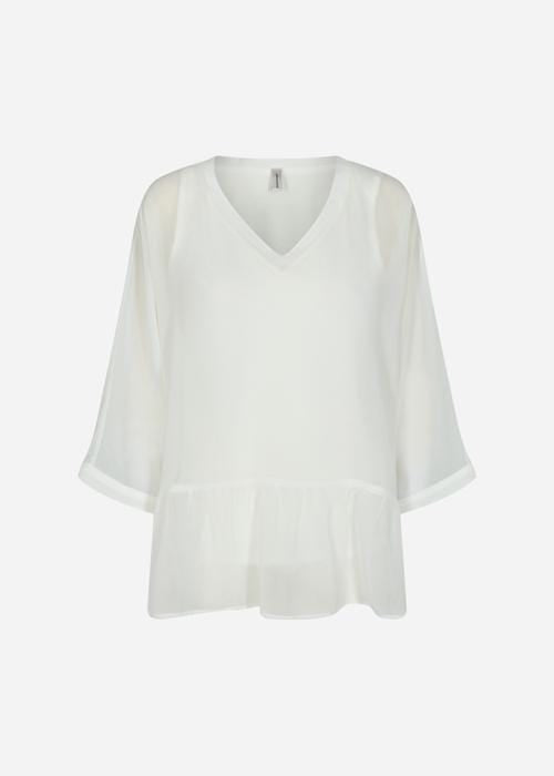 Soyaconcept Odina Blouse in White - MS17226