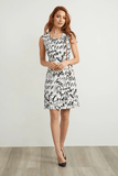 Joseph Ribkoff Sleeveless Dress - Graffiti Print - 211309 1846