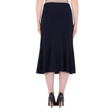 Joseph Ribkoff T Black Mid Length Skirt 191091
